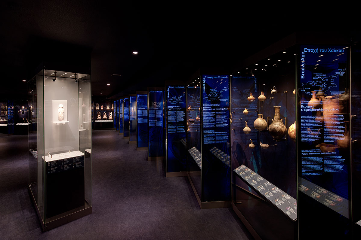 Museum of Cycladic Art. Cypriote Antiquities Collection. Athens. Greece